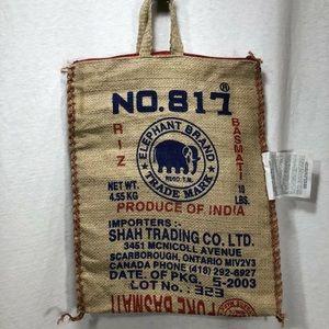 4/$35 Basmati Rice Bags Tote bags Elephant Brand